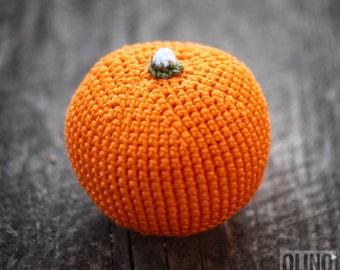 ORANGE Crochet Patterns PDF - Crochet orange pattern Amigurumi orange pattern Crochet fruit pattern Amigurumi food patterns Play Food Orange