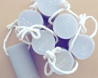 Roped lavender - the women's soap, cold processed soap, organic, natural, lavender, big soap, mintcloud