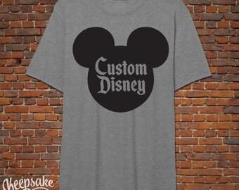 Disney Custom- Custom Colors/Shirt Styles