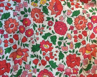 Tana lawn fabric from Liberty of London, D'Anjo or Anjo