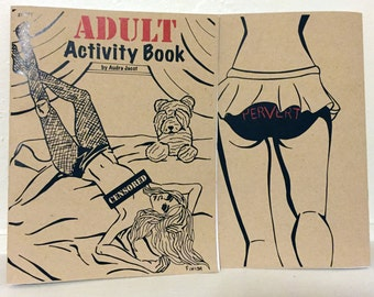 Brown Bag Adult Activity Book