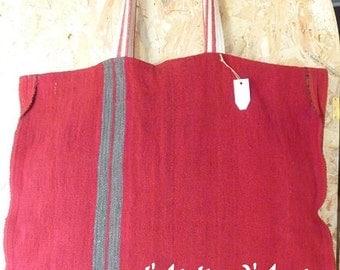 BAG Tote antic poncho