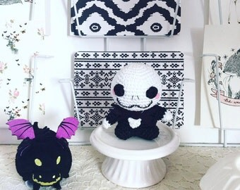 Jack skellington crochet amigurumi disney Nightmare before christmas plush