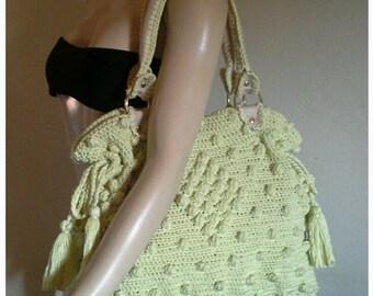 Crochet  Angelina Jolie  Bag   Crochet bags  festival bags handmade