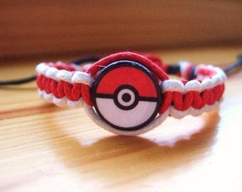 Pokemon Inspired Friendship Bracelet