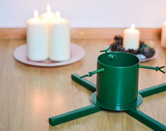 Green Christmas tree stand, Christmas decorations, Christmas ornaments, xmas decorations, Christmas tree decorations, design for you