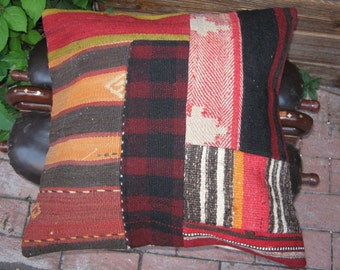 VINTAGE KILIM COVER......genuine Turkish handmade