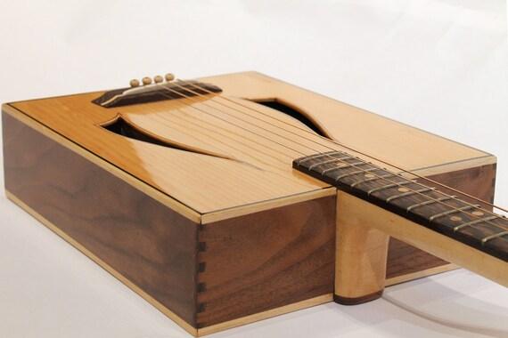 acoustic cigar box guitar. Black Bedroom Furniture Sets. Home Design Ideas