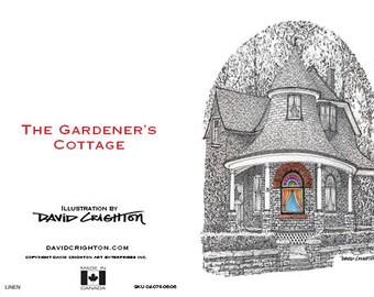 Card Gardeners Cottage, Beaches, Toronto by David Crighton