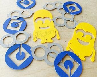 Minions Party Confetti