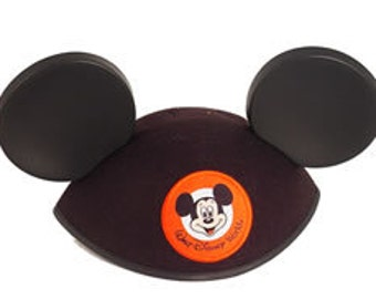 Personalized Walt Disney World Adult Black Mickey Mouse Ear Hat