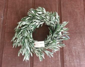 Freshly Cut Olive Branch Wreath