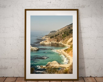 BIg sur photography sea coast surf