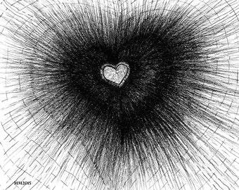 Dark Heart Art