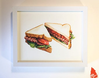 BLT Sandwich Original Artwork