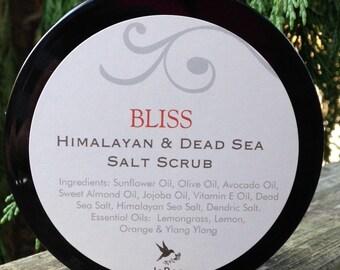 Bliss ~ Himalayan & Dead Sea Salt Scrub
