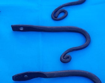 Hand-forged Metal Hooks OOAK