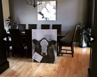 "Heifer Canvas-Simmi Heifer Canvas 30""x40"""