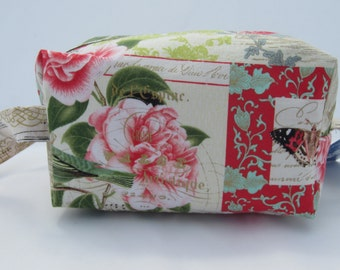 Flowers and Butterflies Box Bag