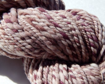 Logwood-Plant Dyed Handspun Yarn