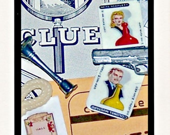 CLUE Collage Photo Notecard