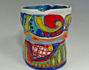 This is a COOL porcelain mug