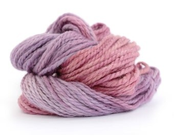 Bulky baby alpaca yarn, hand dyed chunky knitting crochet wool, Perran Yarns Blackcurrant Sorbet, purple plum, uk seller, yarn skein hank