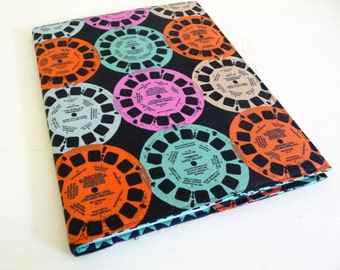 Retro Viewfinder Composition Book Cover, Notebook Cover includes notebook