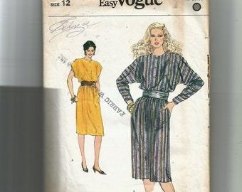 Vogue Misses'  Dress Pattern 8199