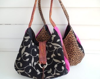Tapestry Hobo Bag