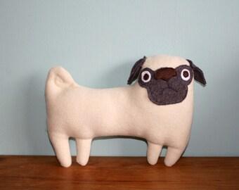 Pug Soft Toy, Puggy Softy