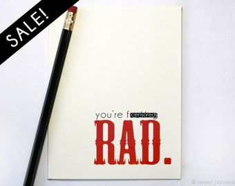 Congratulations Card. On Sale. Rad. Graduation Card.