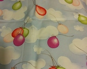 Balloons and Clouds FQ Cotton Fat Quarter