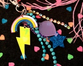 Rainbows and Lucky Charms Laser Cut Charms Purse Candy