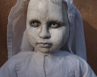 Ghosting Porcelain Doll By Ugly Shyla  ghost spirit spiritualism occult cemetery art