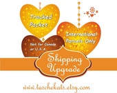 Shipping upgrade for a tracking for International Parcels