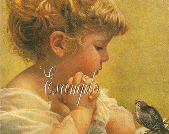 Instant Digital download*Jesse Wilcox Smith*Girl and bird *love love love