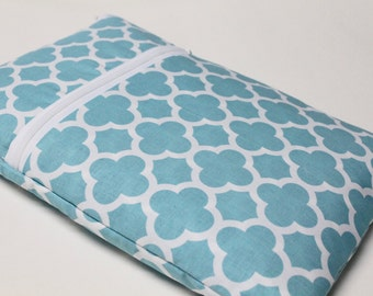 "13"" MacBook Pro, 15 inch Case, MacBook Pro with Retina Display, Laptop Sleeve for Women or Girls - Aqua Quatrefoil"