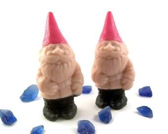 Garden Gnome Soap, Unique Custom Soap Gift, Soap for Gnome lover