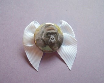 Harambe Hair Bow