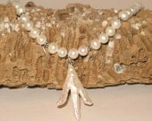 Your Choice - Sterling & Stick Pearl Necklace