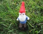 Needle Feletd Gnome Bendy Doll Mibble Pocket Gnome