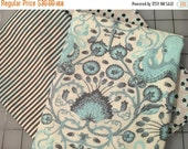 SALE Tula Pink Salt Water Octo Garden Floaties Sinkers Sea Stripe Blues Half Yard Cotton Fabric Bundle from shereesalchemy