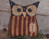 Handmade Americana Owl