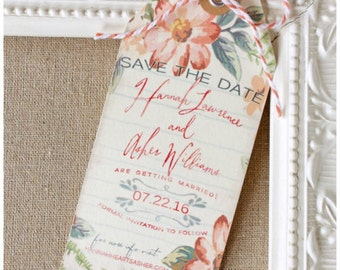 Wedding Save the Date SAMPLE, Your Choice
