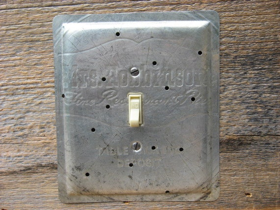 Antique Light Switch Cover Plates Table Talk Mrs By