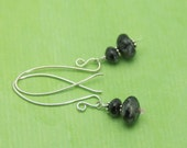 SALE- Gray Pearlstone Earrings