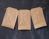 24 tan kraft bags - 5 X 7 1/2