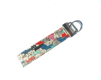 Cats Galore Key Fob For Mew Cat Lover Key Chain, Gift For Cat Lover