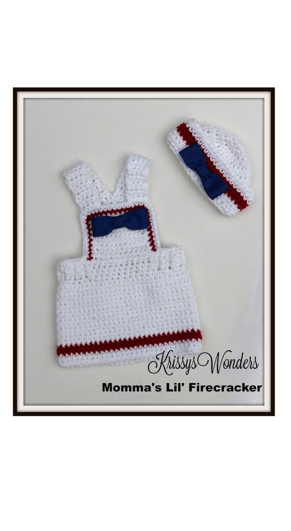 Crochet Dress Pattern Sailor Hat Pattern Mommas Lil